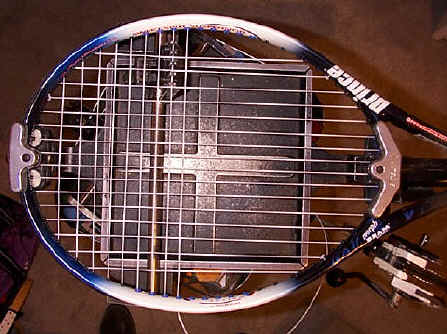 Ektelon Stringing Machine stringing racquet